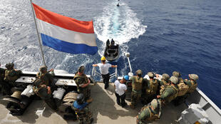 Pays Bas - USA - Manoeuvres militaires