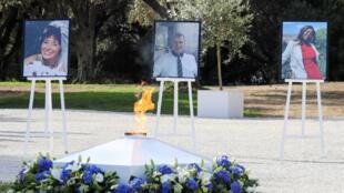 Портреты жертв нападения в базилике в Ницце