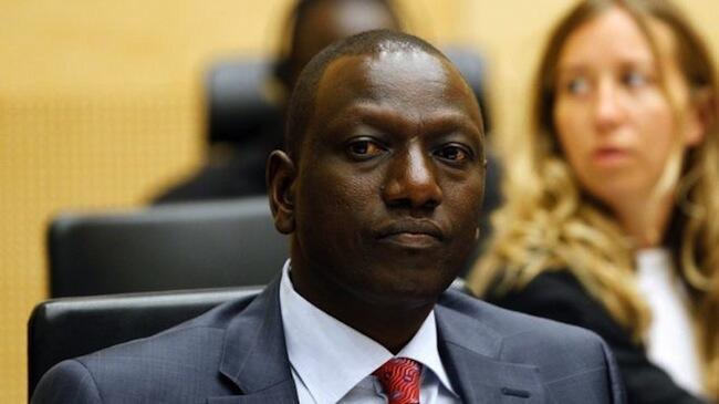 El vicepresidente William Ruto.