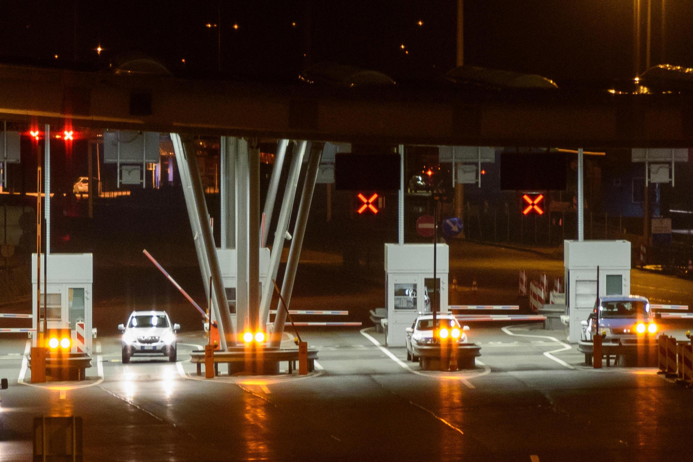 A Obrezje en Slovénie, la frontière avec la Croatie va être le théâtre de nouveaux obstacles pour empêcher le passage des migrants.