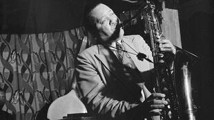 Lester Young en septembre 1946 à New York