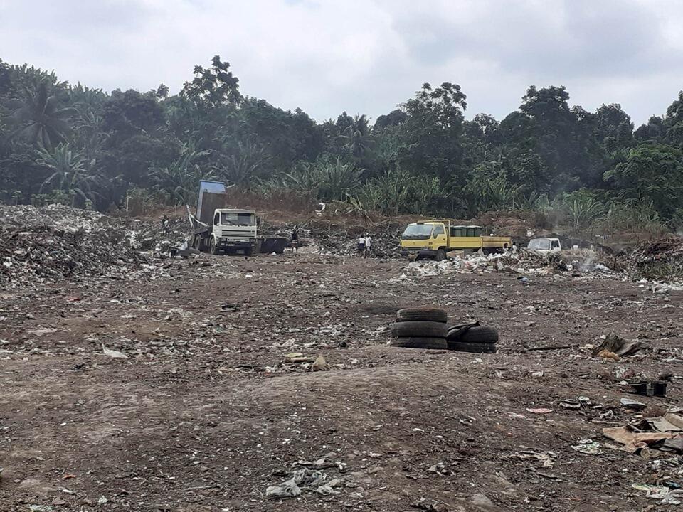 Lixeira da Penha em São Tomé