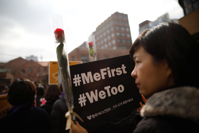 Le phénomène Metoo a aussi touché la Corée du Sud avec ses conséquences sur internet et les réseaux sociaux.