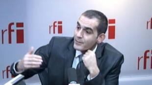 Pouria Amirshahi, député PS de la 9e circonscription des Français de l'étranger.