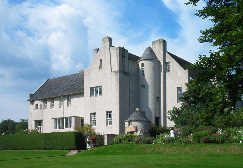 Hill House, Helensburgh, Escócia.