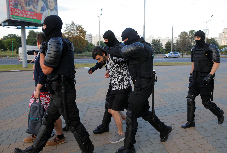 В Минске начались новые задержания, 10 августа 2020.
