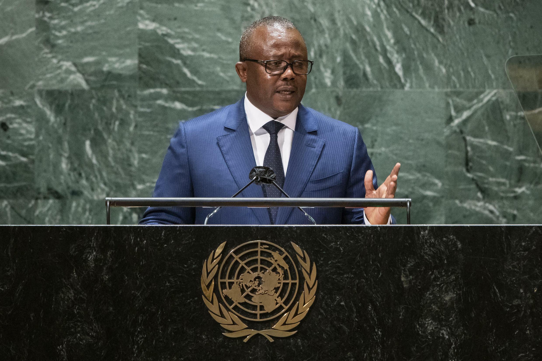 Umaro Sissoco Embaló - Guiné-Bissau - Guineense - África Lusófona - ONU - Presidente