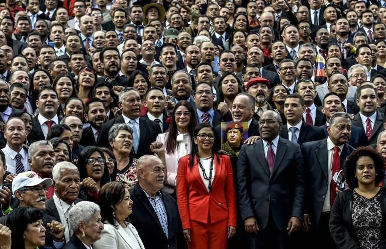 اعضای مجلس موسسان ونزوئلا