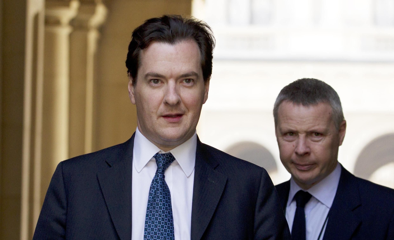 O ministro das Finanças britânico, George Osborne.