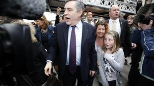 A quelques jours du scrutin, les travaillistes de Gordon Brown sont à la traîne dans les sondages.