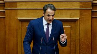Le chef du parti conservateur de la Nouvelle démocratie (ND), Kyriakos Mitsotakis, a dénoncé mardi un «mauvais accord».