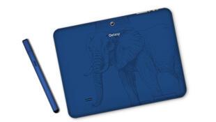 « Qelasy », la première tablette numérique d'Afrique de l'Ouest créée par le jeune entrepreneur ivoirien Thierry N'Doufou.