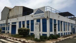 À l'usine Médis Sénégal de Thiaroye, le 21 juillet 2020.