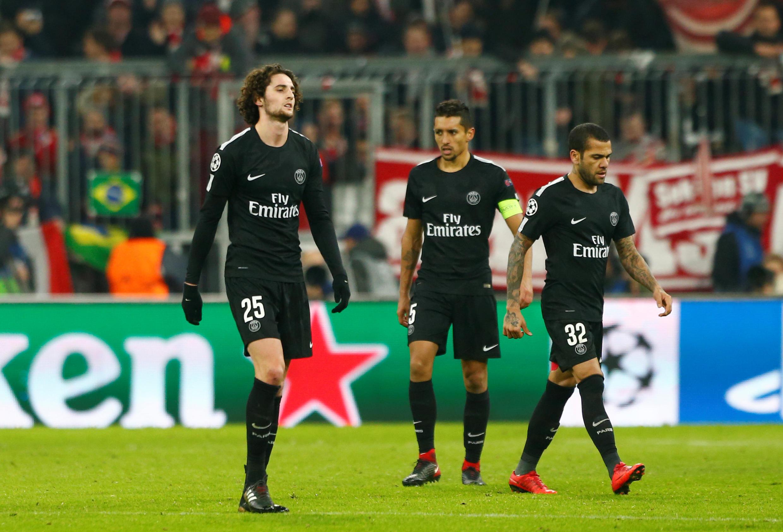 Le PSG d'Adrien Rabiot, Marquinhos et Daniel Alves s'est incliné à Munich face au Bayern (3-1) le 5 décembre.