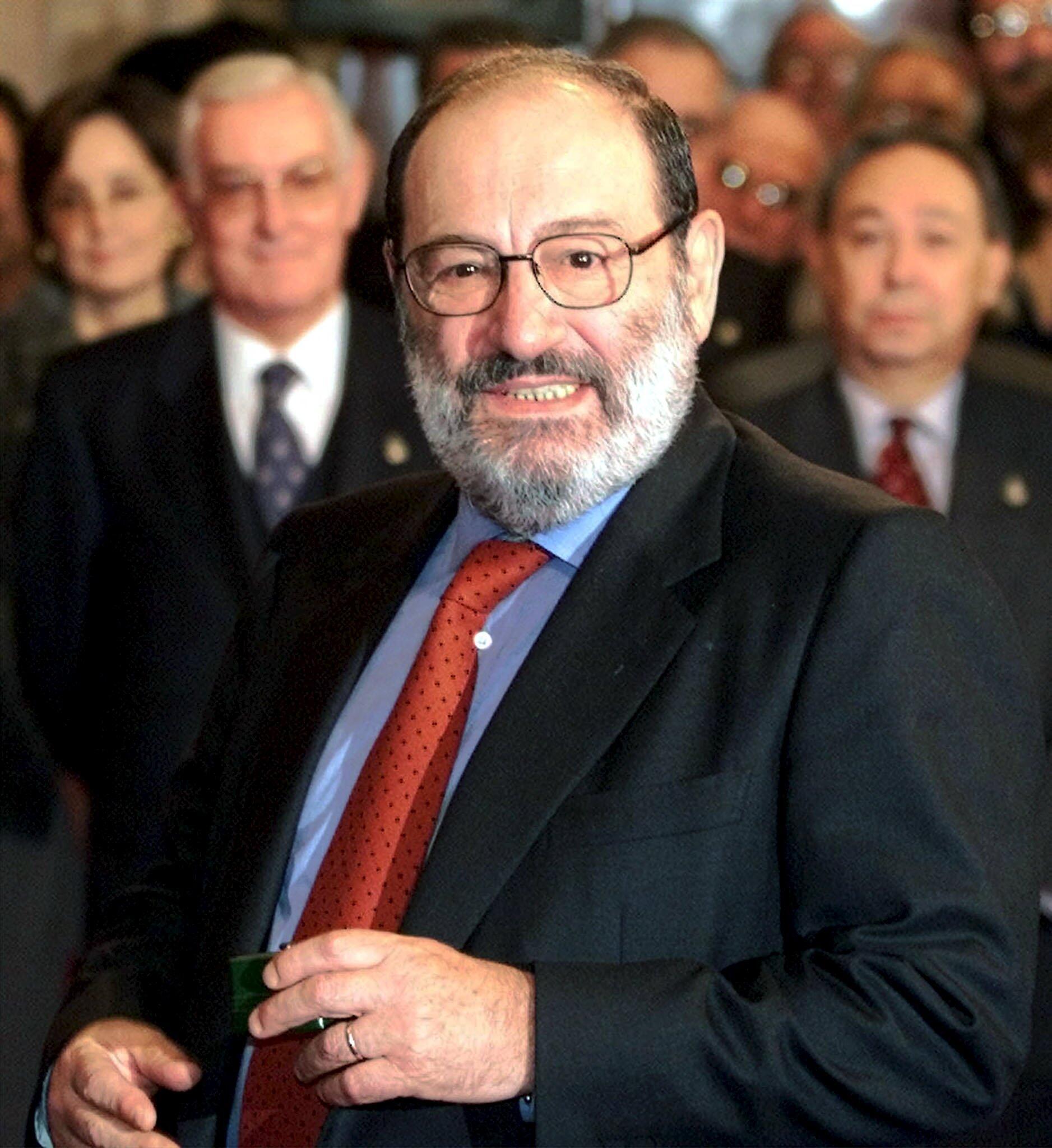 Итальянский писатель, философ, профессор семиотики Умберто Эко