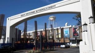 Lối vào hãng phim Sony Pictures Studios tại Culver City, California, 19/12/2014.