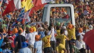 Jornadas mundiales de la juventud: Madrid, 21 de agosto de 2011