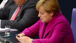 Thủ tướng Đức Angela Merkel nhiều lần được nêu danh là đối tượng bị nghe lén của tình báo Mỹ.