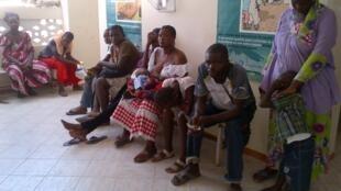 Poste de santé de Yoff village.