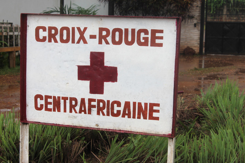 Centre de la Croix-Rouge, à Bangui, en RCA.