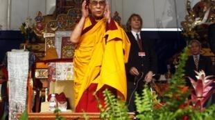 The Dalai Lama in Canada in October 2010