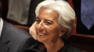 អតីតរដ្ឋមន្រ្តីសេដ្ឋកិច្ចបារាំង Christine Lagarde ត្រូវជ្រើសរើសជាអគ្គនាយកថ្មីរបស់មូលនិធិរូបិយវត្ថុអន្តរជាតិ IMF