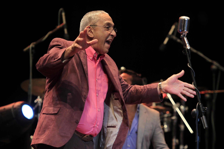 Juan Formell durante un concierto en La Habana, en diciembre de 2012.
