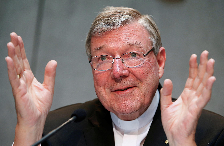 Hồng Y Georges Pell. Ảnh chụp ngày 9/07/2014 tại Vatican.