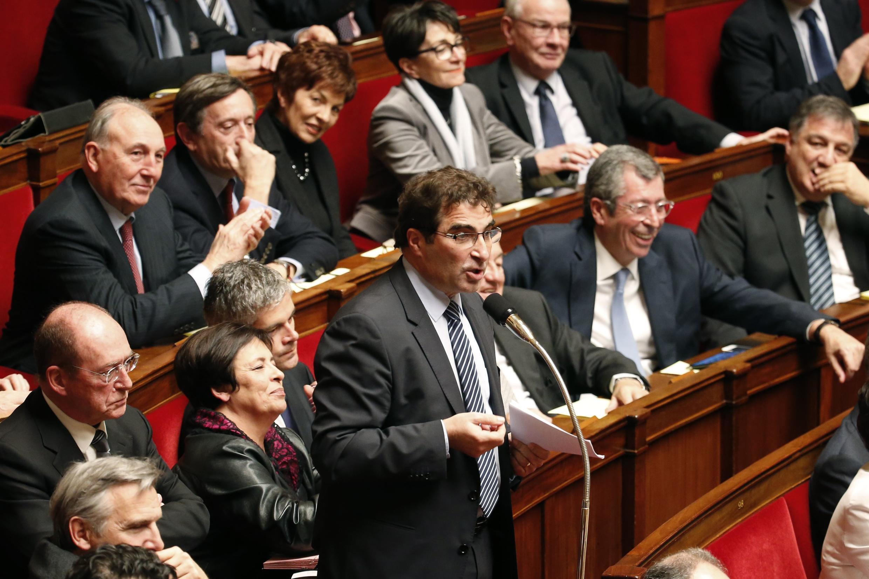 Christian Jacob, à l'Assemblée nationale, le 17 février 2015, à Paris.