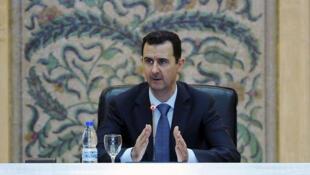 Rais wa Syria Bashar Al Assad ametangaza Wanajeshi wake watashinda vita dhidi ya Wapinzani