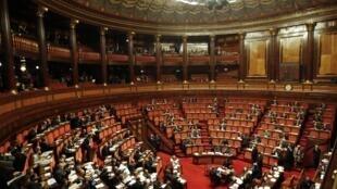 Thượng viện Ý, ngày 11/11/2011
