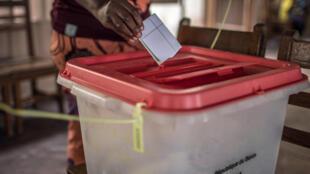 Benin - vote - cotonou
