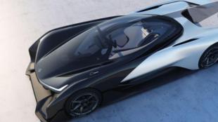 Faraday Future, le jeune constructeur automobile californien de voitures électriques lance le FFZERO1