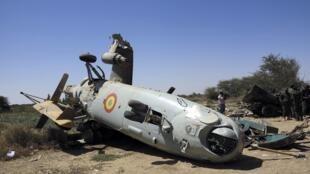 Un hélicoptère de l'armée malienne s'est écrasé le 15 mars lors d'un exercice d'entraînement près de la ville de Diabaly, au centre du Mali.