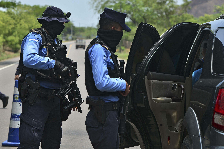 Des agents de la police nicaraguayenne. (Illustration)
