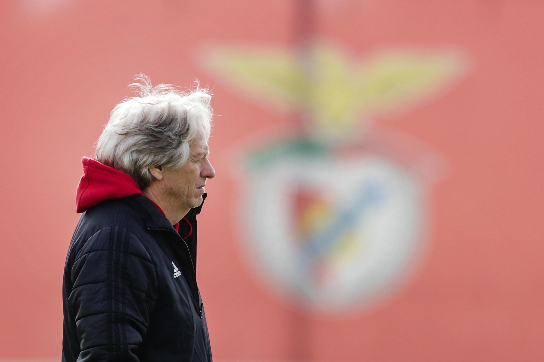 Jorge Jesus, treinador do SL Benfica.