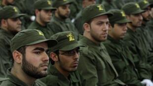 نیروهای حزبالله در بیروت