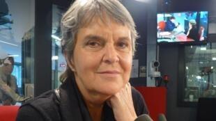 María Novaro en los estudios de RFI.
