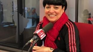 A escritora Cristina Judar
