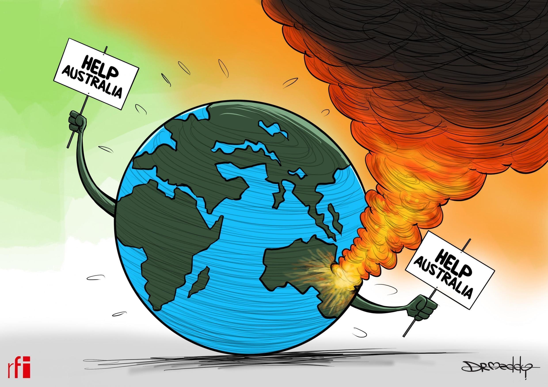 法广存档图片:澳大利亚森林大火需要国际援助 Image d'archive: Incendie de la forêt: Australie a besoin d'une assistance internationale pour sauver des vies et l'environnement (16/01/2020)