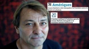 A prisão do ativista italiano Cesare Battisti tem repercussão na imprensa francesa.