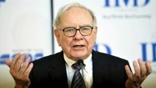 Le milliardaire américain, Warren Buffet.