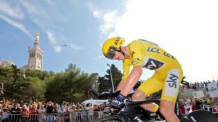 Le Britannique Chris Froome (presque) assuré de remporter son quatrième Tour de France 2017.