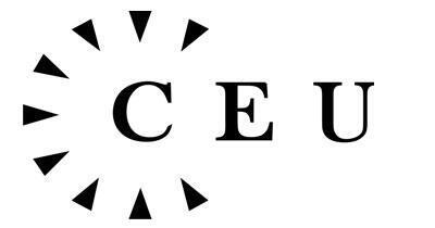 Logo de l'Université d'Europe centrale basée à Badupest en Hongrie.