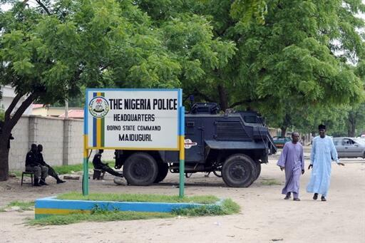 Ofishin 'Yan sanda a Maiduguri Jahar Borno