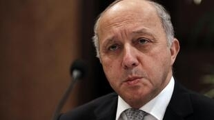 French foreign minister Laurent Fabius.