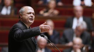 Bruno Le Roux, député PS de Seine Saint-Denis et président du groupe socialiste à l'Assemblée nationale