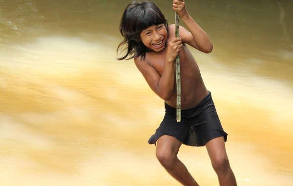 Os Awá são a tribo mais ameaçada do mundo.