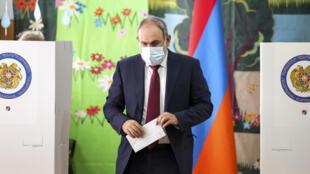 Nikol Pachinian Arménie