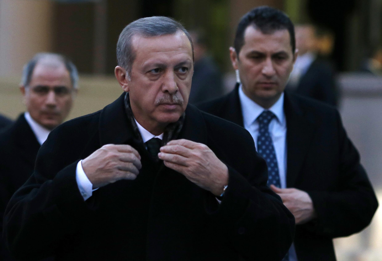 رجب طیب اردوغان نخست وزیر ترکیه.